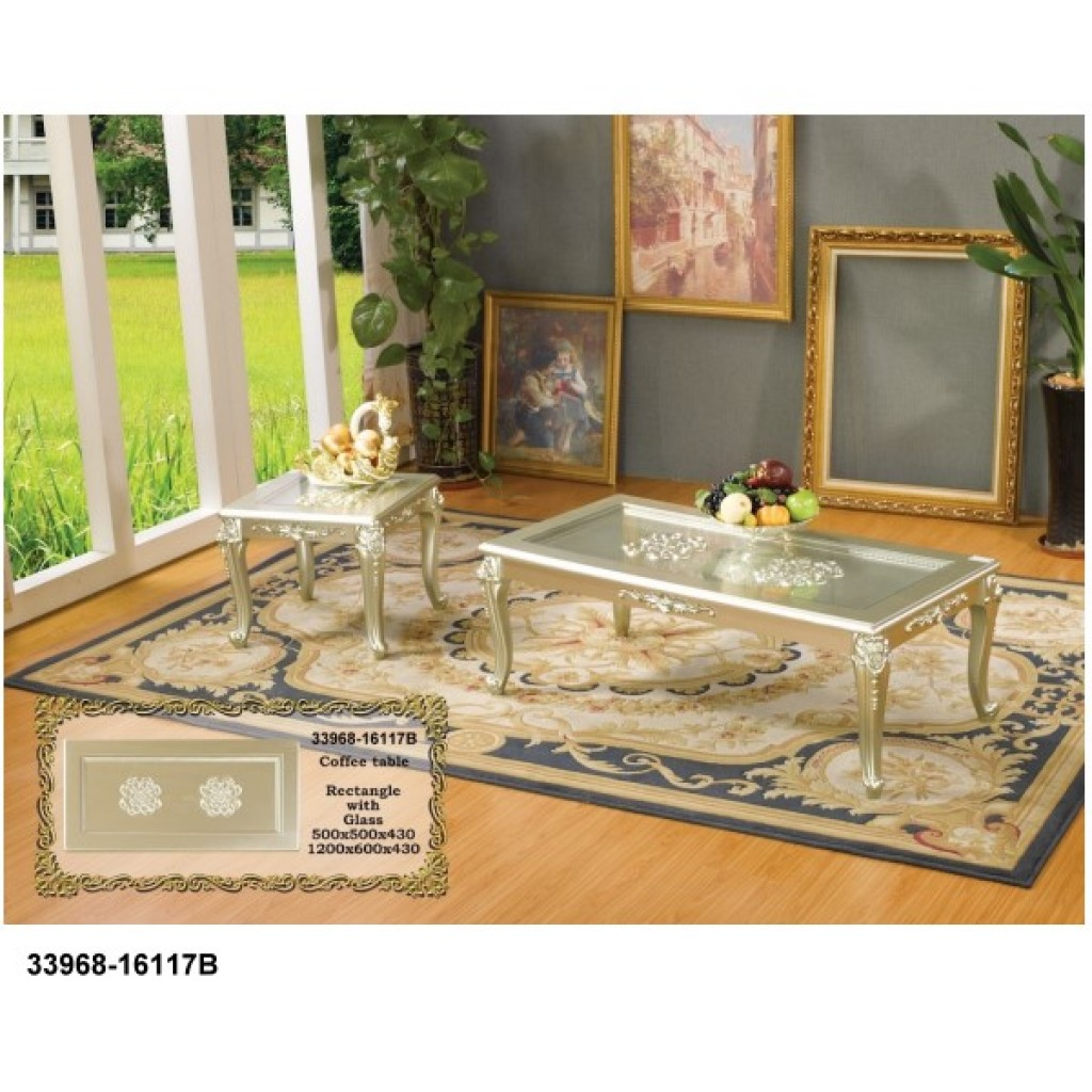 33968-16117B Wooden Coffee Table