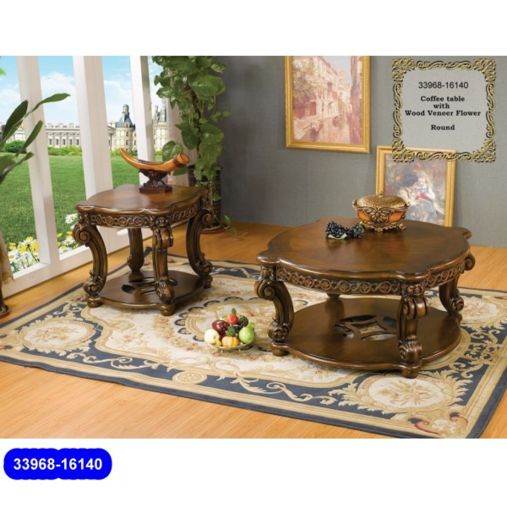 33968-16140 Wooden Classic Coffee Table