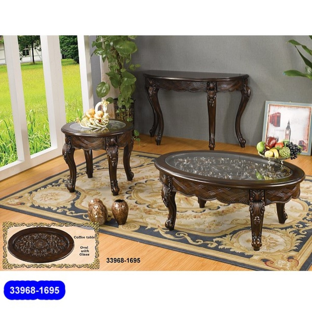 33968-1695 Wooden Classic Coffee Table