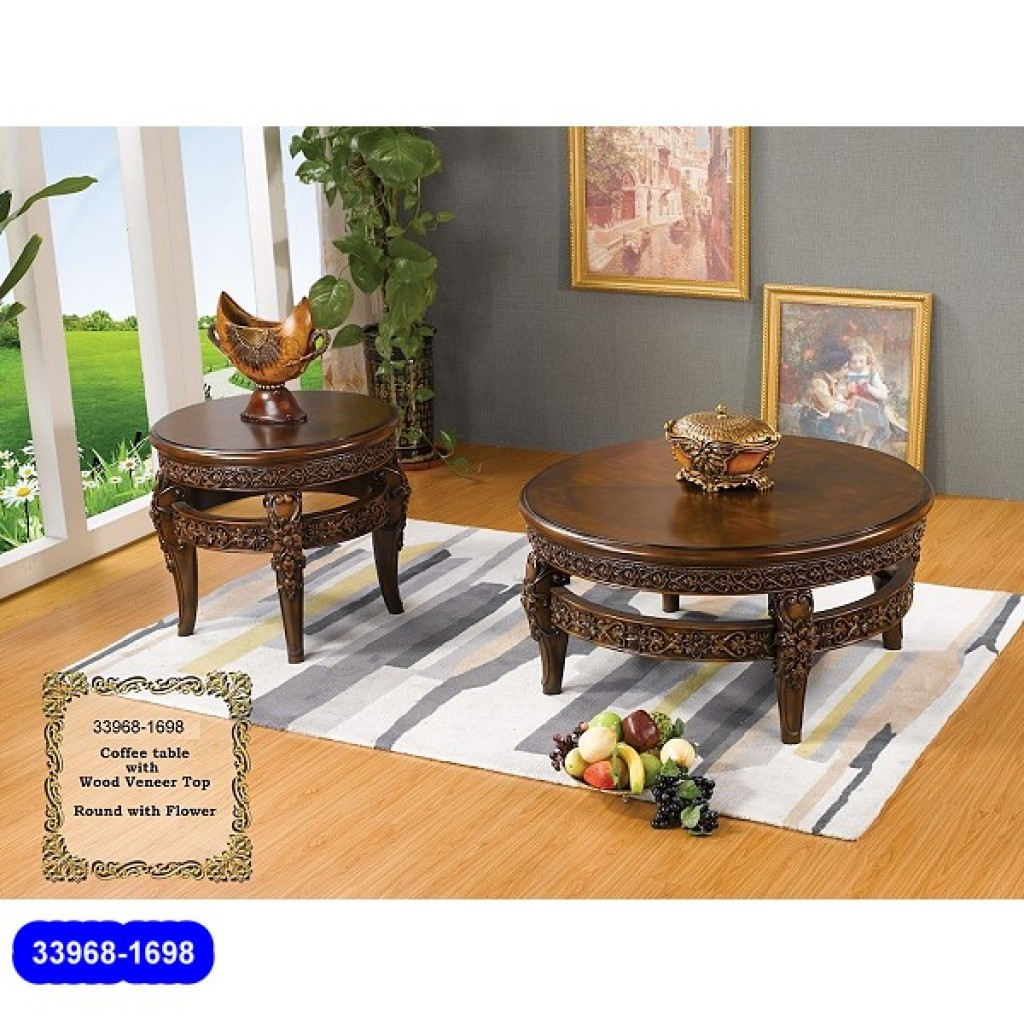 33968-1698 Wooden Classic Coffee Table