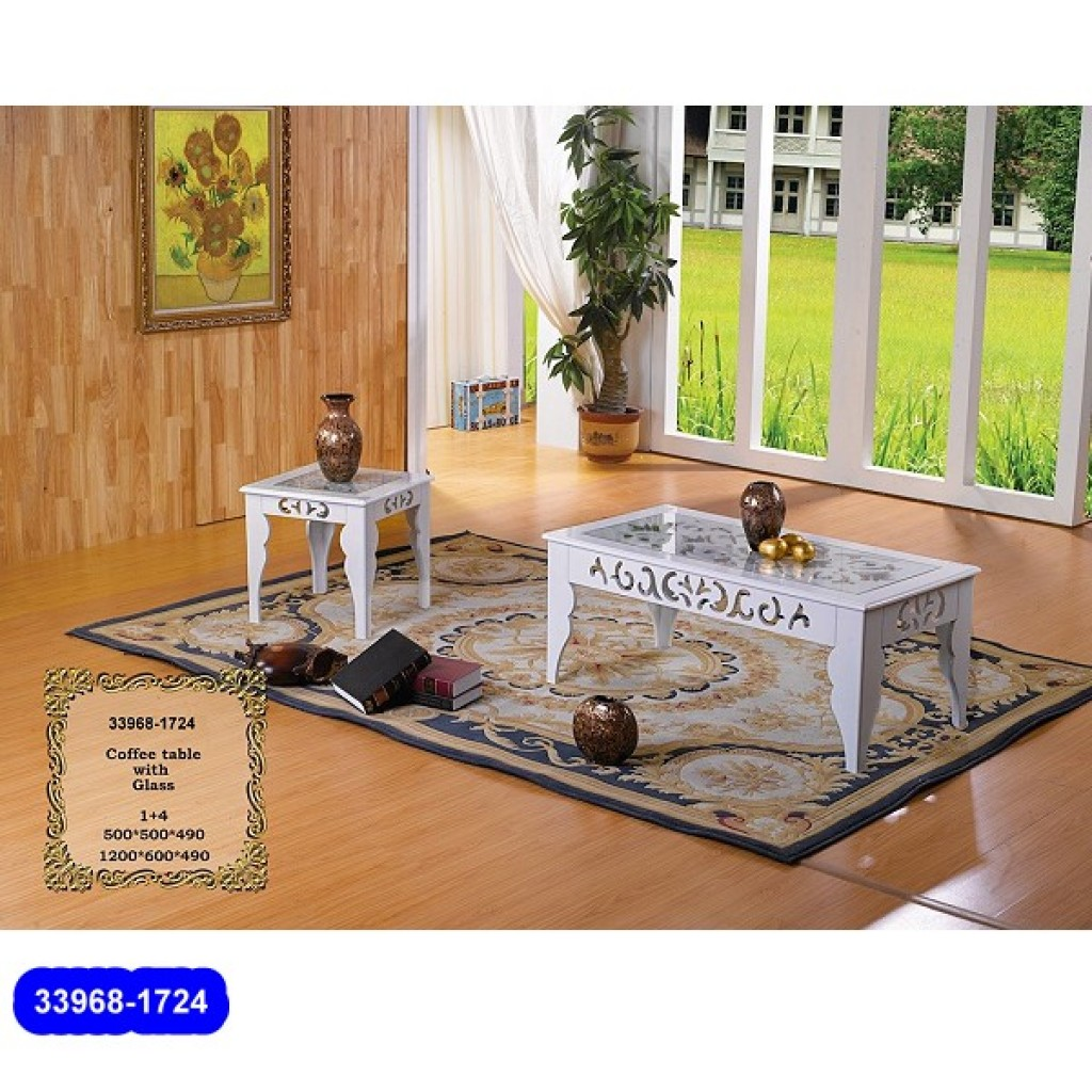 33968-1724 Wooden Coffee Table