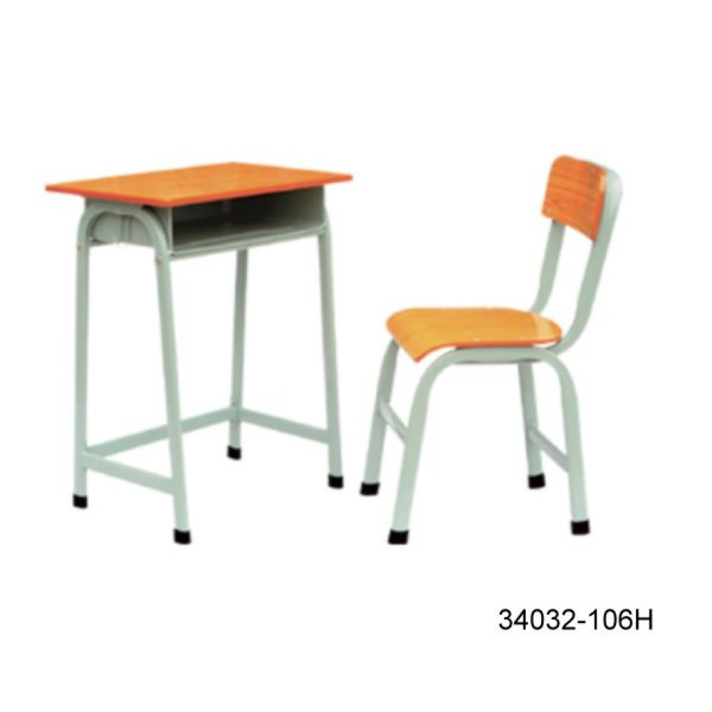 34032-106H Single desk and chair