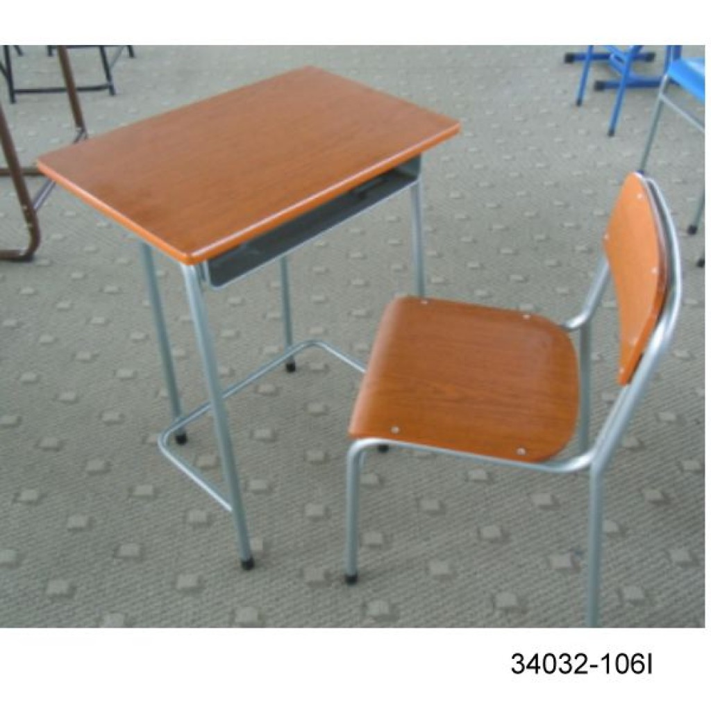 34032-106I Single desk and chair