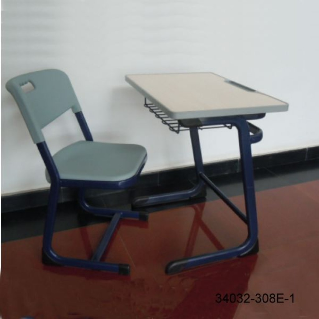 34032-308E-1 Single desk and chair