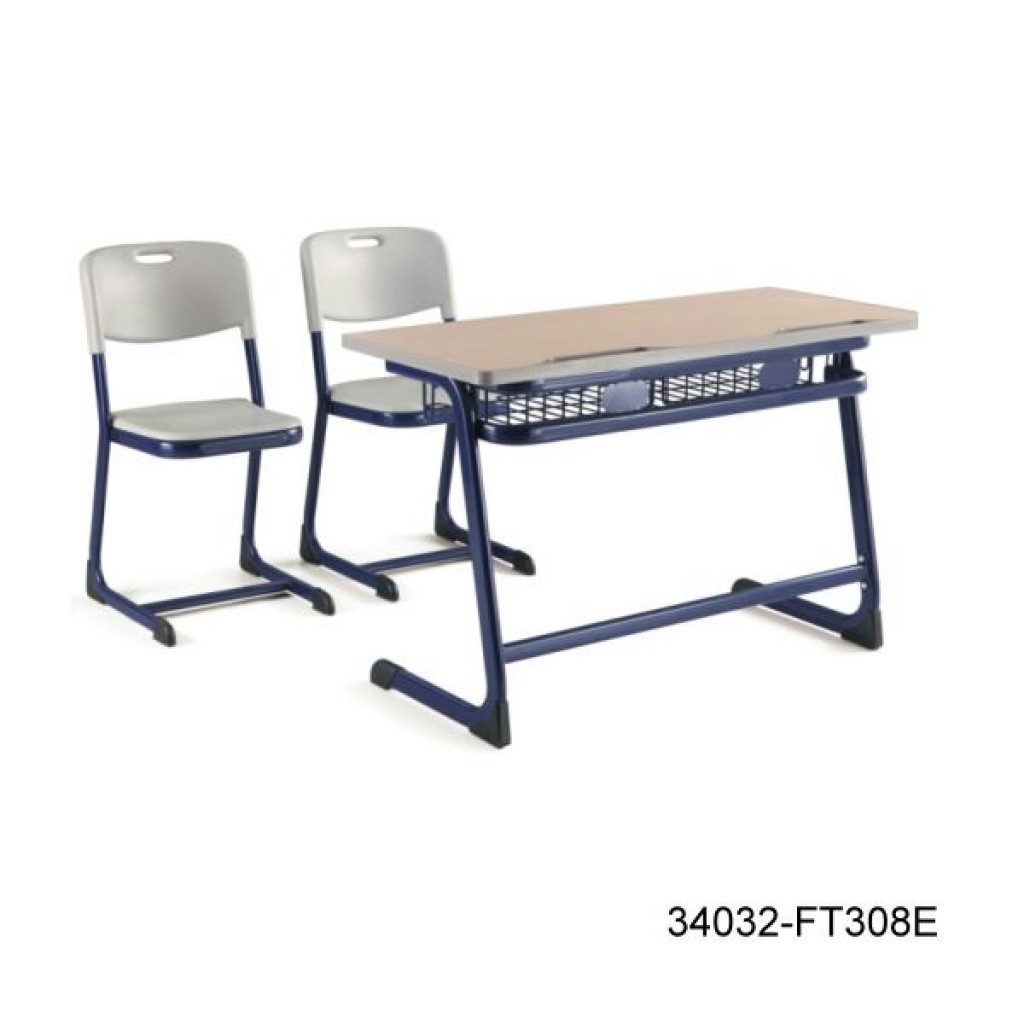 34032-FT308E Double desk and chair