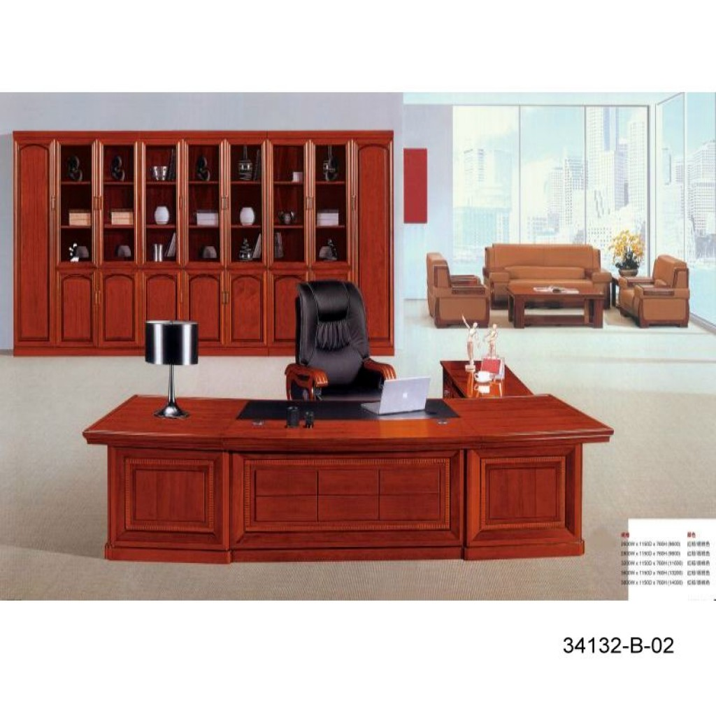 34132-B-02 office Big-sized Desk