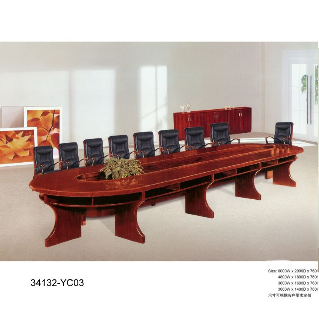 34132-YC03 wooden big-size meeting desk