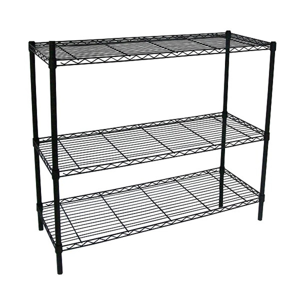 34179-3-1836-BK  light duty storage steel Rack