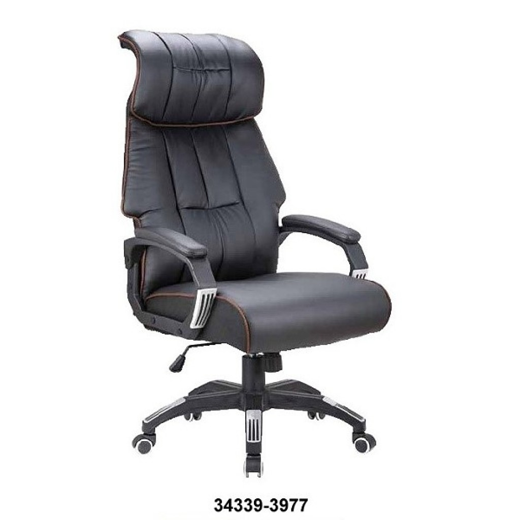 34339-3977  Leather Manager Office Chair
