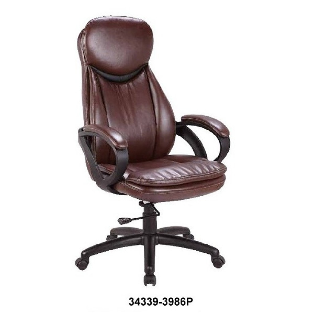 34339-3986  Leather Manager Office Chair