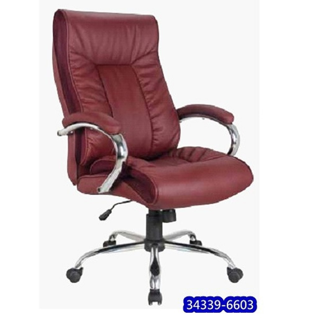 34339-6603   Leather Manager Office Chair