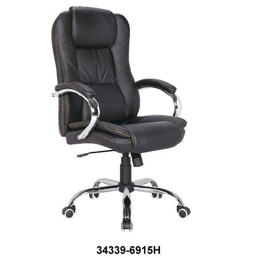 34339-6915   Leather Manager Office Chair