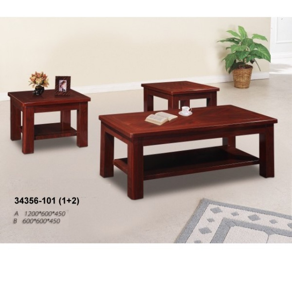 34356-101 Wooden Coffee Table