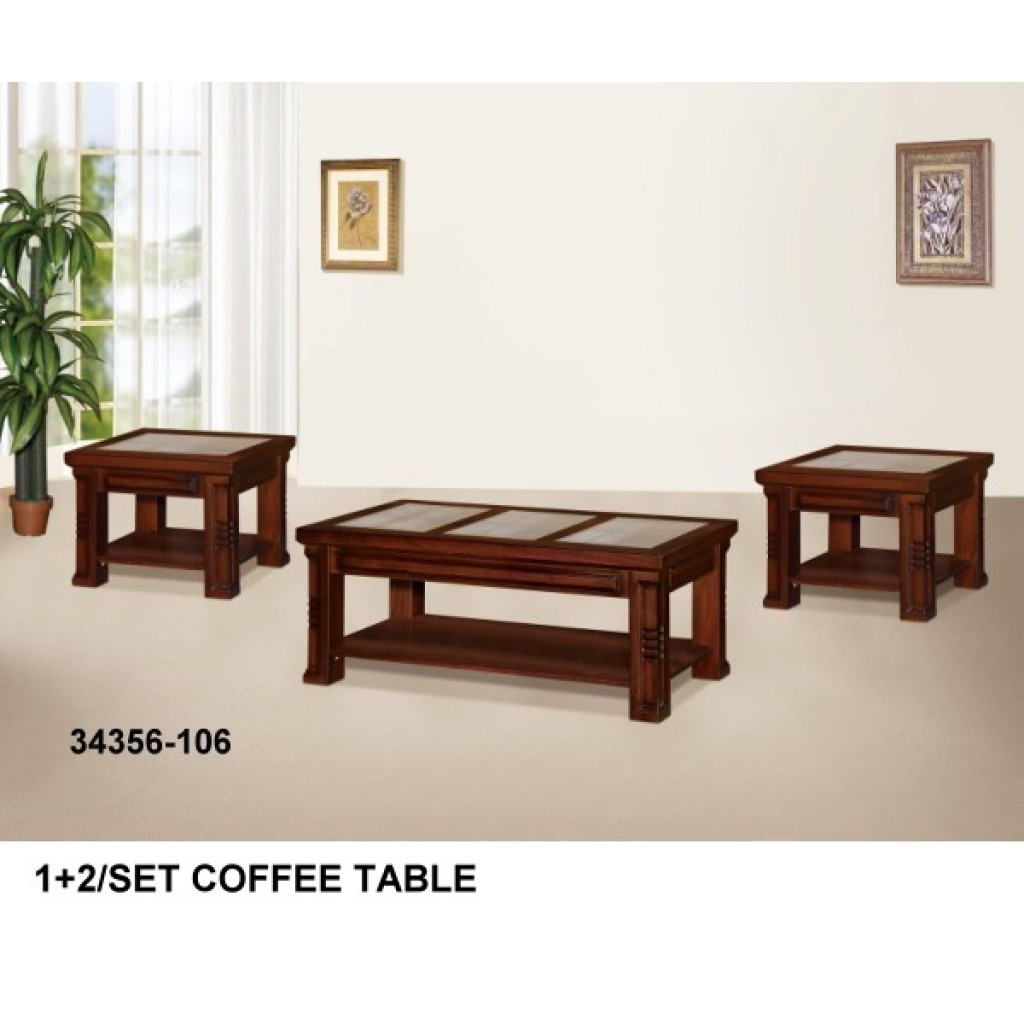 34356-106 Wooden Coffee Table