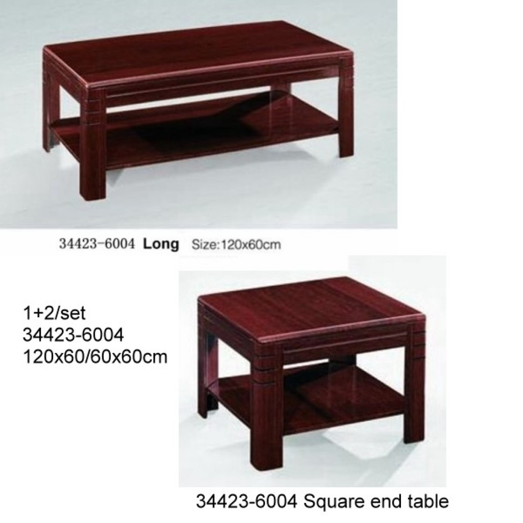 34423-6004  WOODEN OFFICE COFFEE TABLE