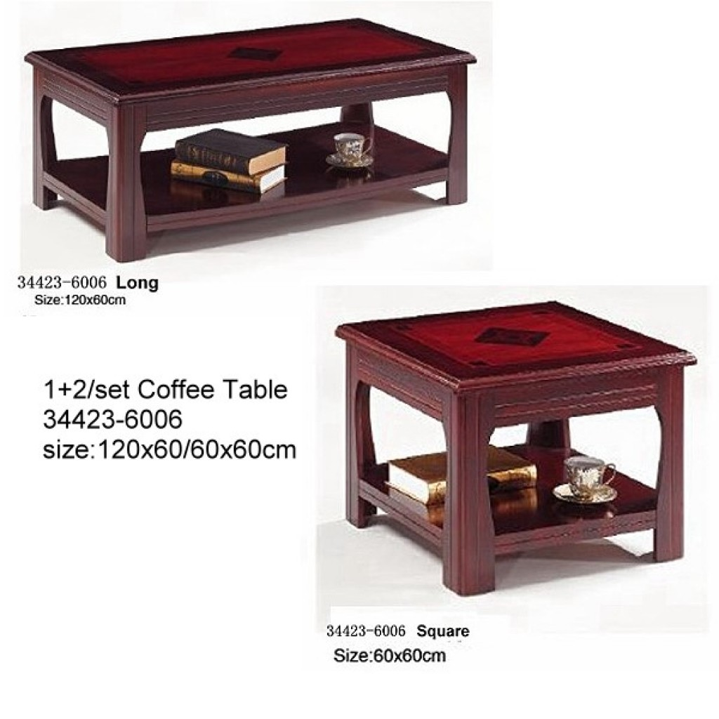 34423-6006 WOODEN OFFICE COFFEE TABLE