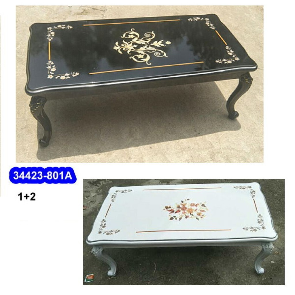 34423-801A 1+2  Wooden Coffee Table