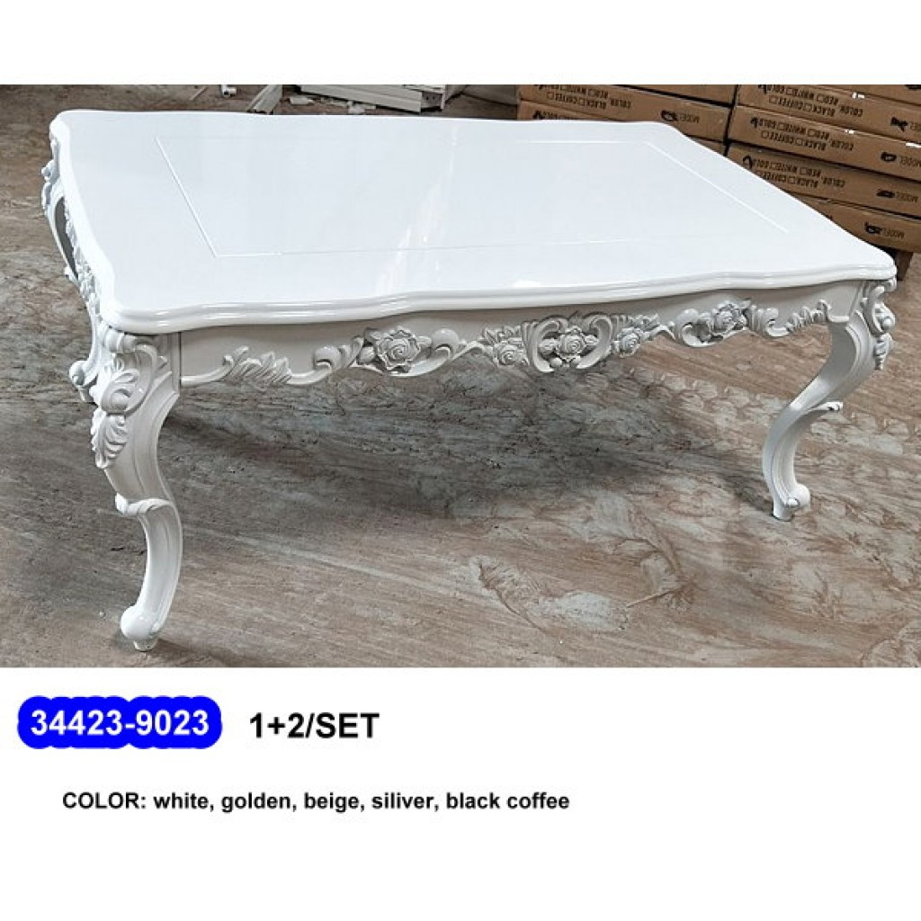 34423-9023 1+2  Wooden Coffee Table