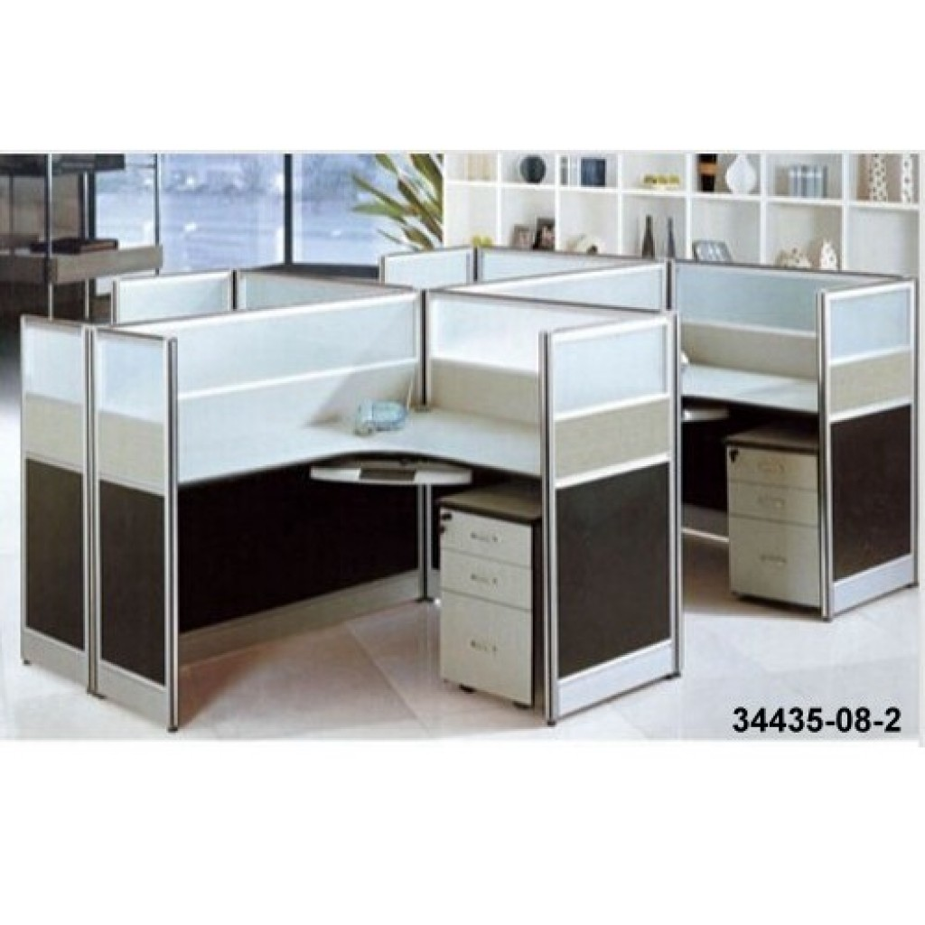34435-08-2 Office workstation for 4  person