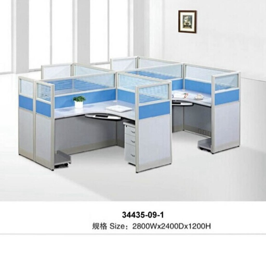 34435-09-1 Office workstation for 4  person