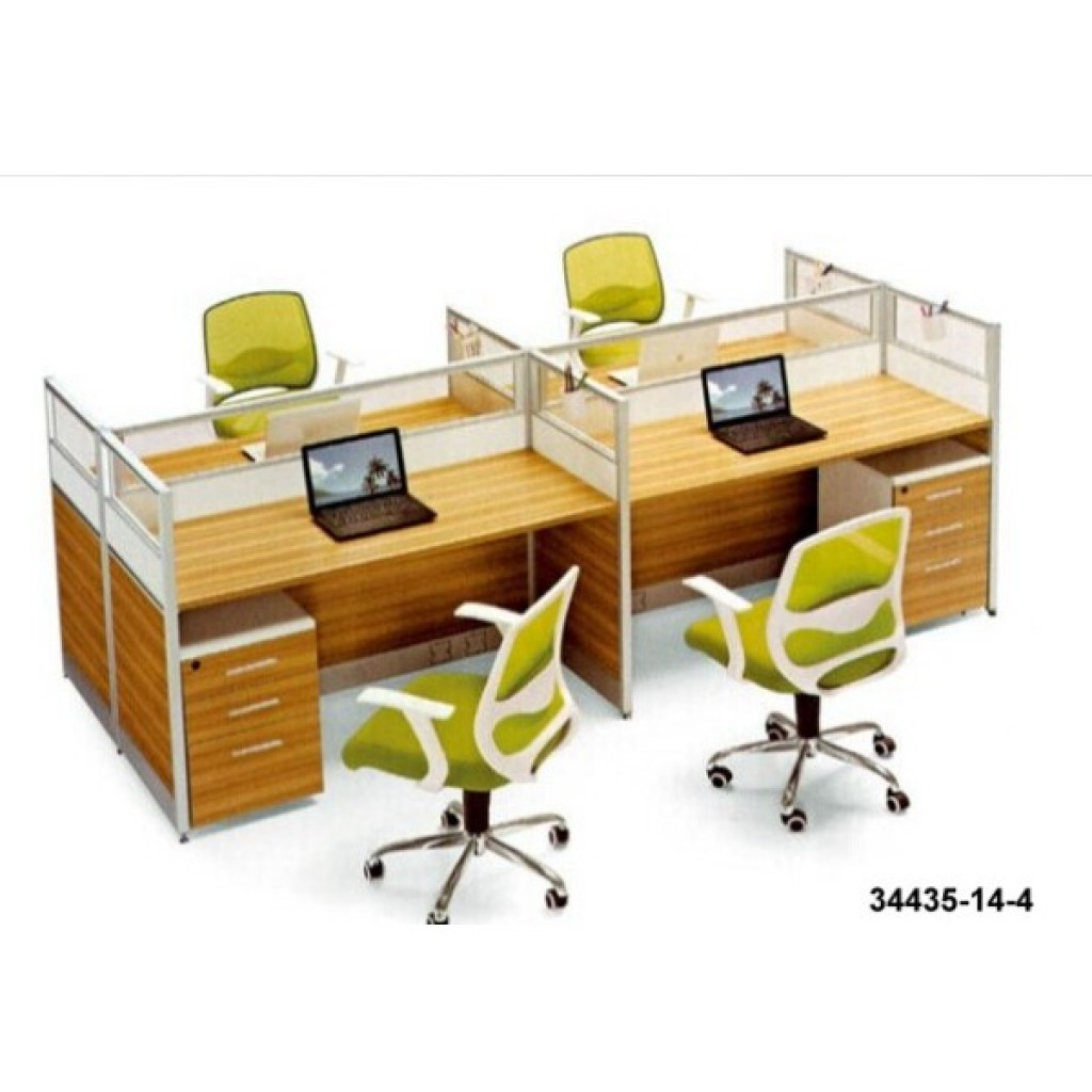 34435-14-4 Office workstation for 4  person