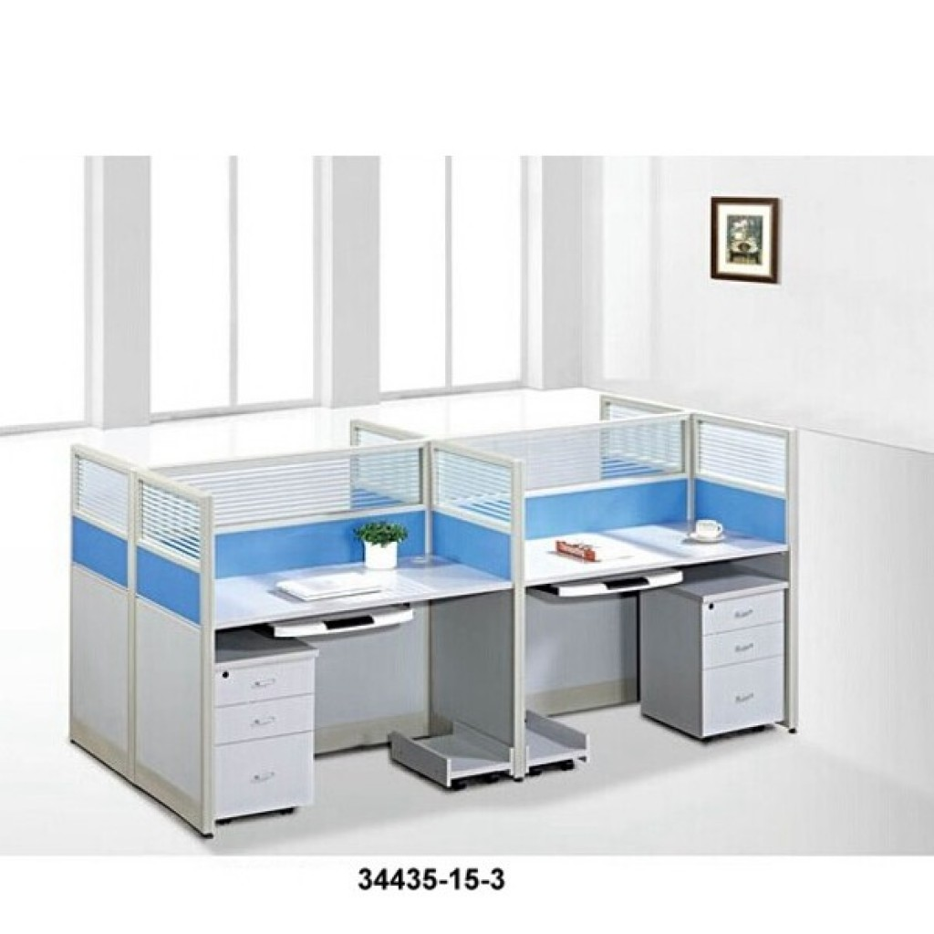 34435-15-3 Office workstation for 4  person