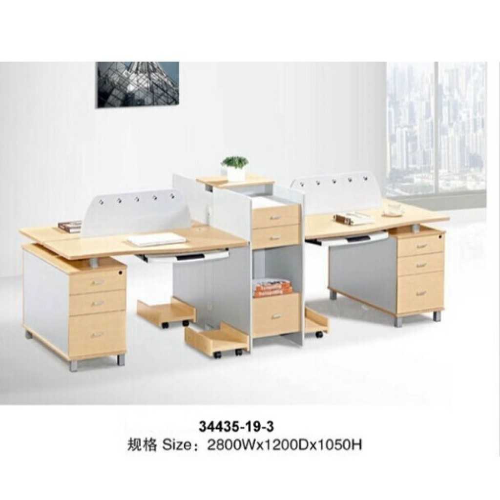 34435-19-3 Office workstation for 4  person