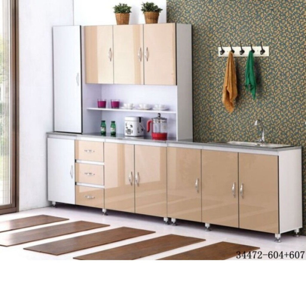 34472-604+607 MDF Kitchen Cabinet with Sink