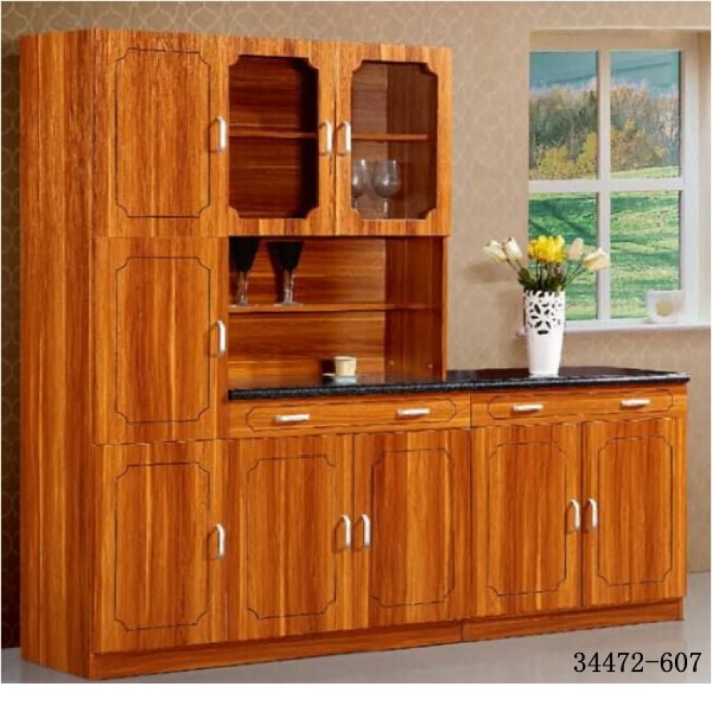 34472-607 MDF Kitchen Cabinet with Sink