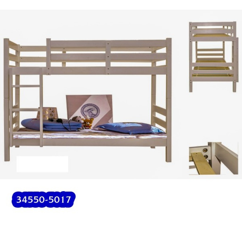 34550-5017 Wooden Children Bunk Bed