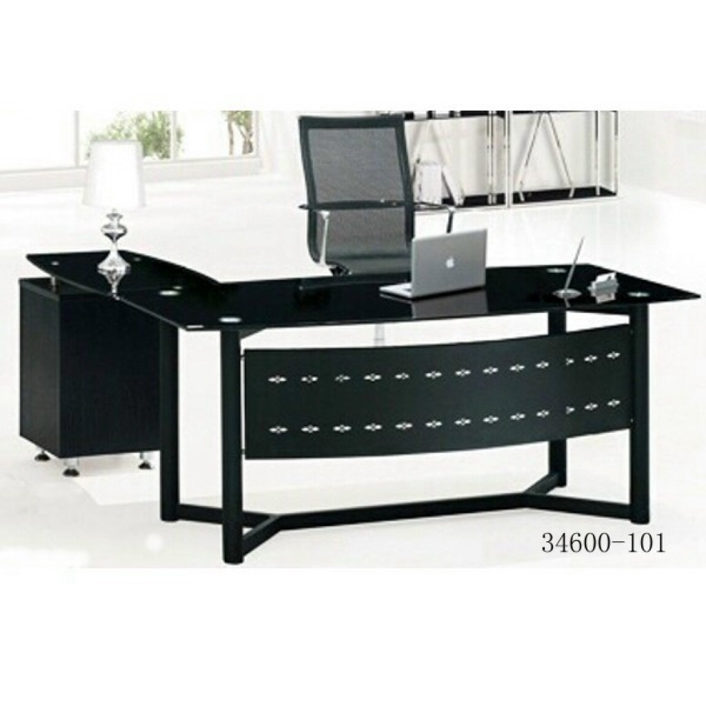 34600-101 Glass office desk