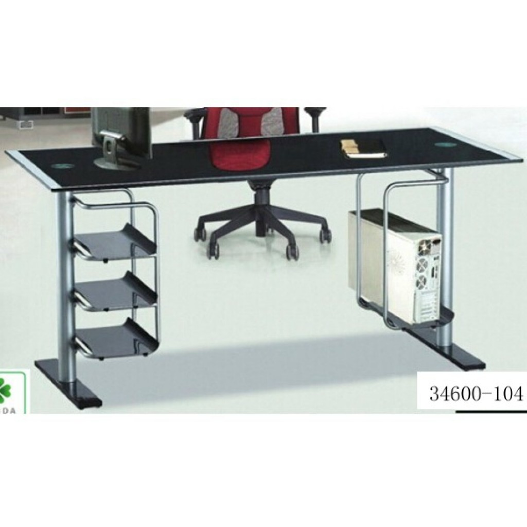 34600-104 Glass office desk