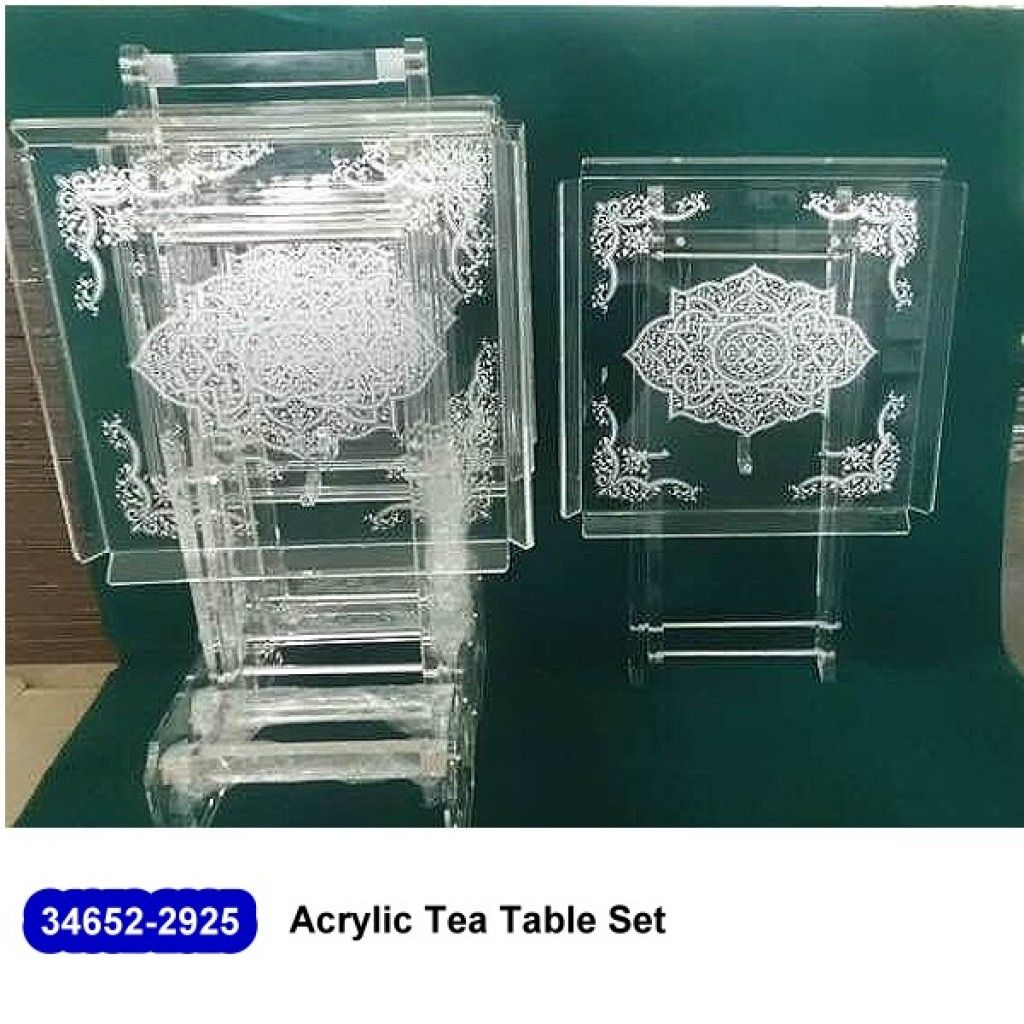 34652-2925 Acrylic coffee table