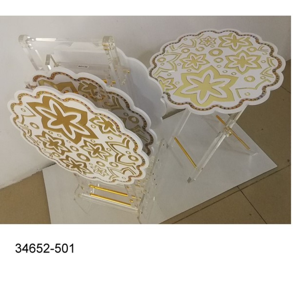 34652-501 New Design Acrylic Tea  table