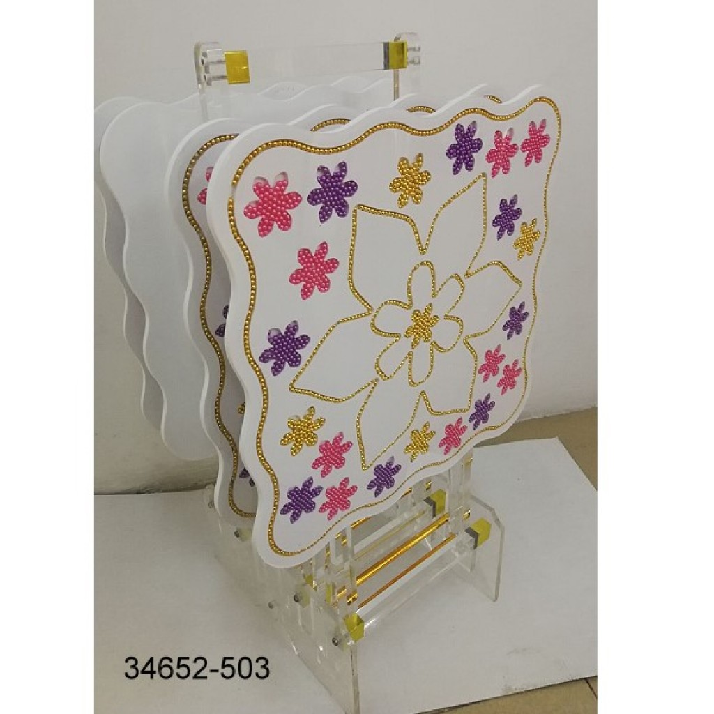 34652-503 New Design Acrylic Tea  table