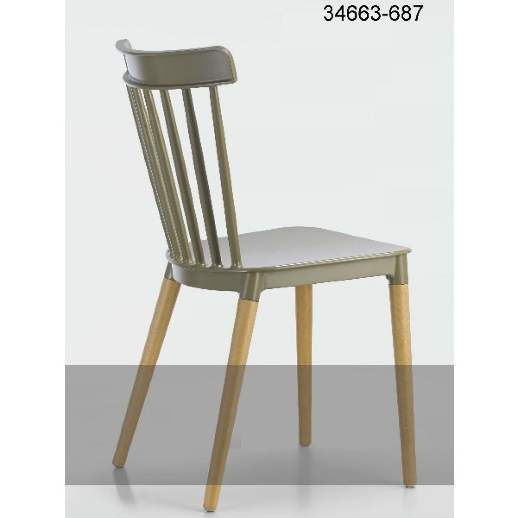 34663-687 plastic dining chair