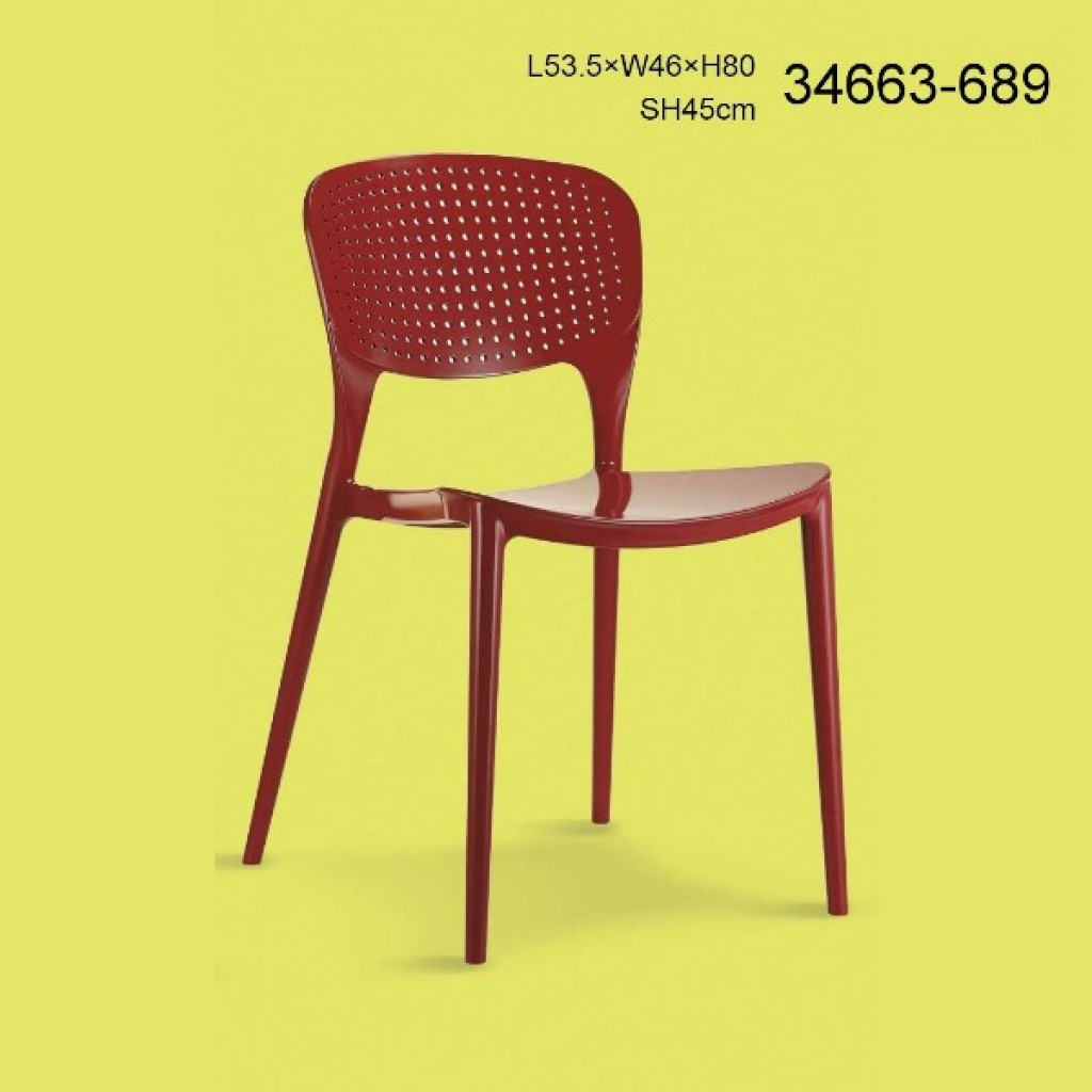 34663-689 plastic dining chair