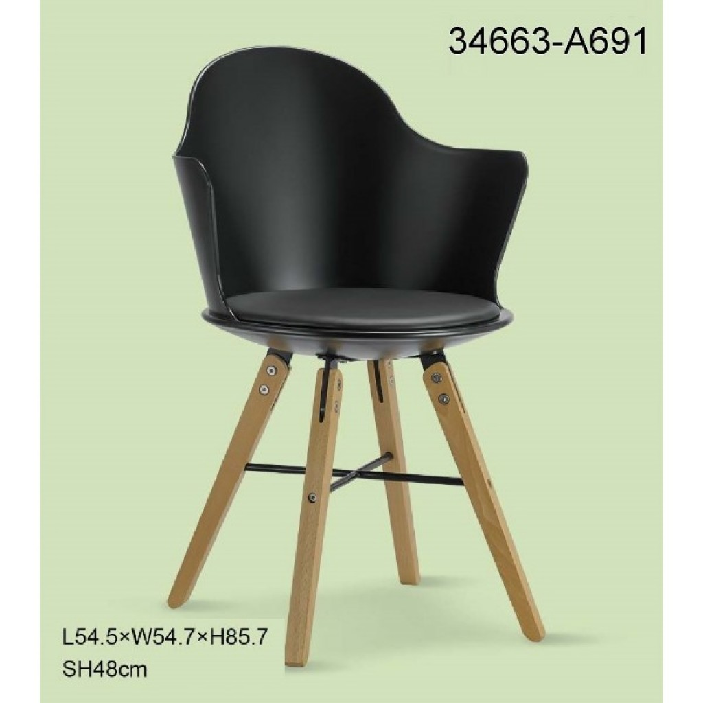34663-A691 plastic dining chair