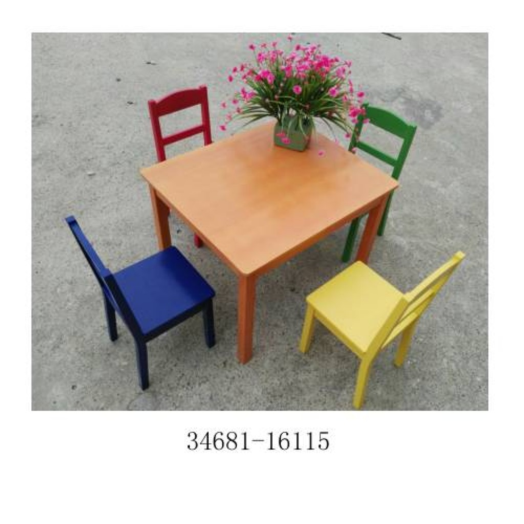 34681-16115 Children table and chair sets