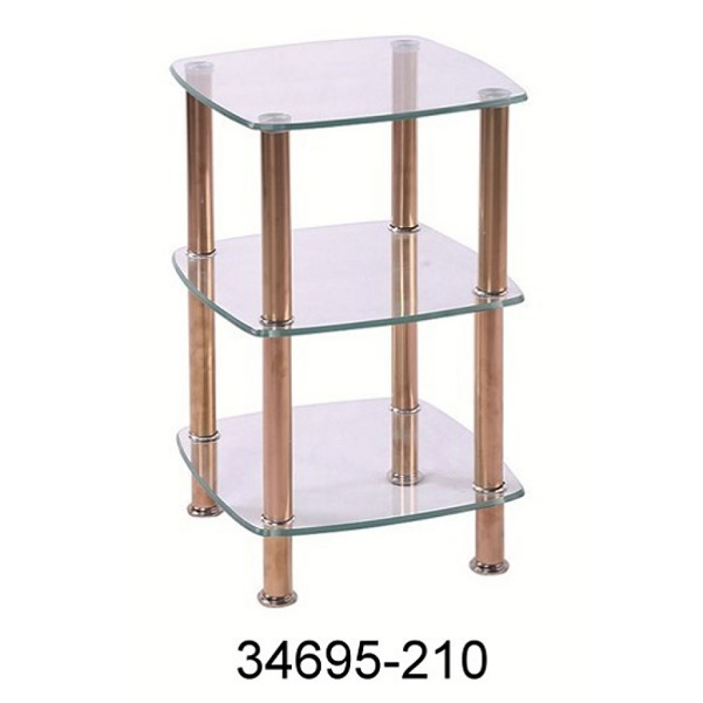 34695-210 3 Tier Glass Rack