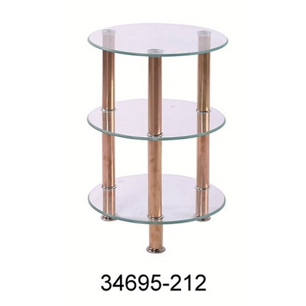 34695-212 3 Tier Glass Rack
