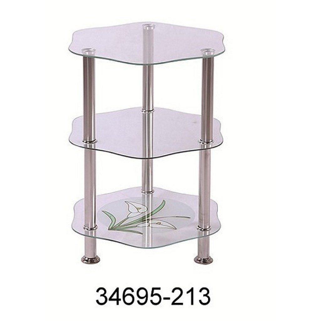 34695-213 3 Tier Glass Rack