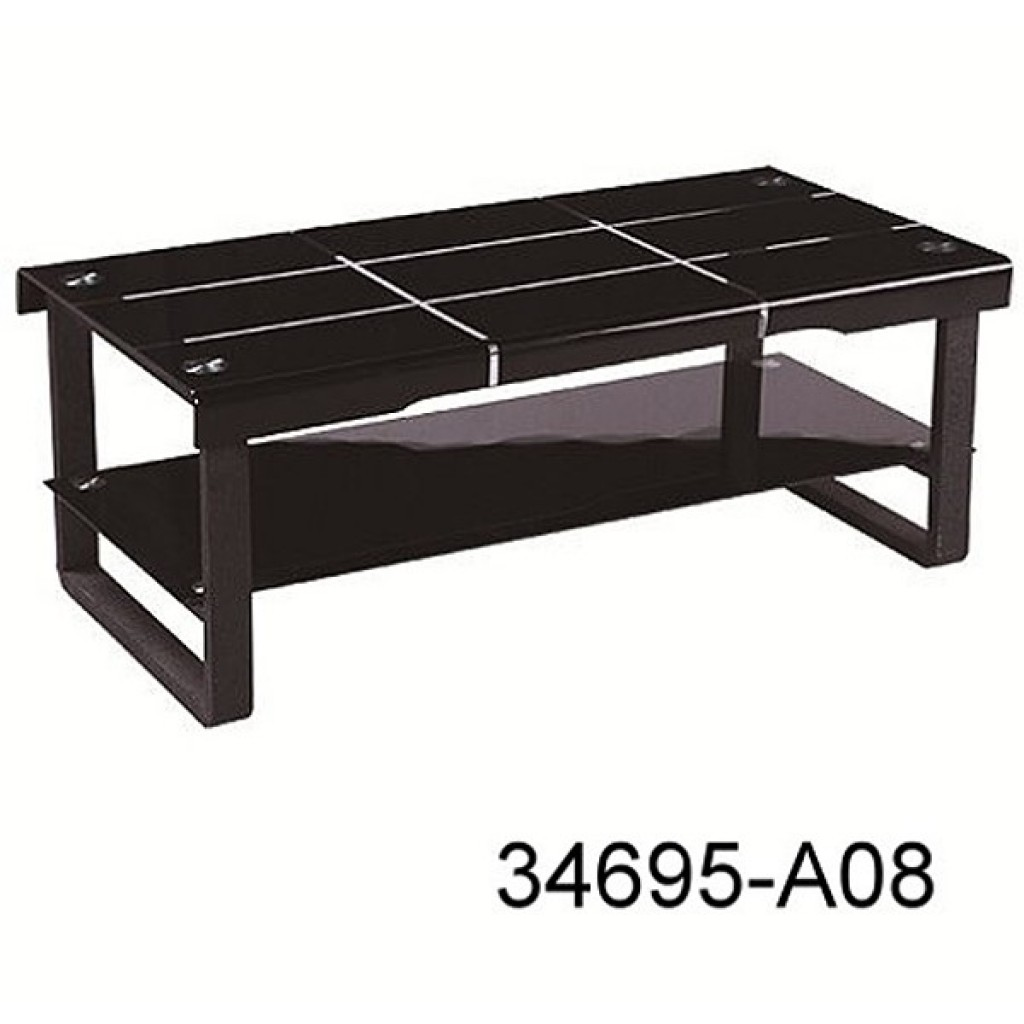 34695-A08 Glass coffee table