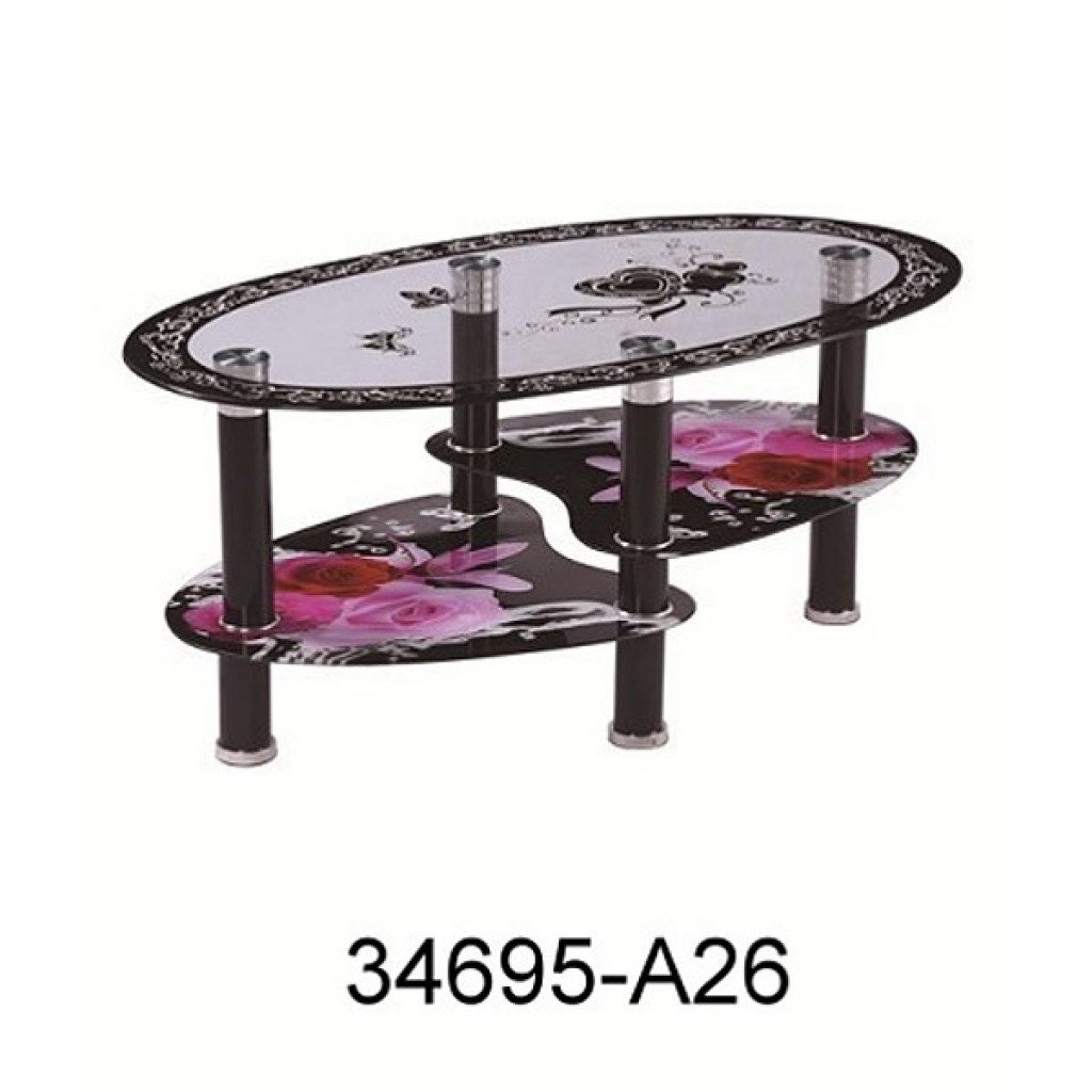 34695-A26 Glass coffee table