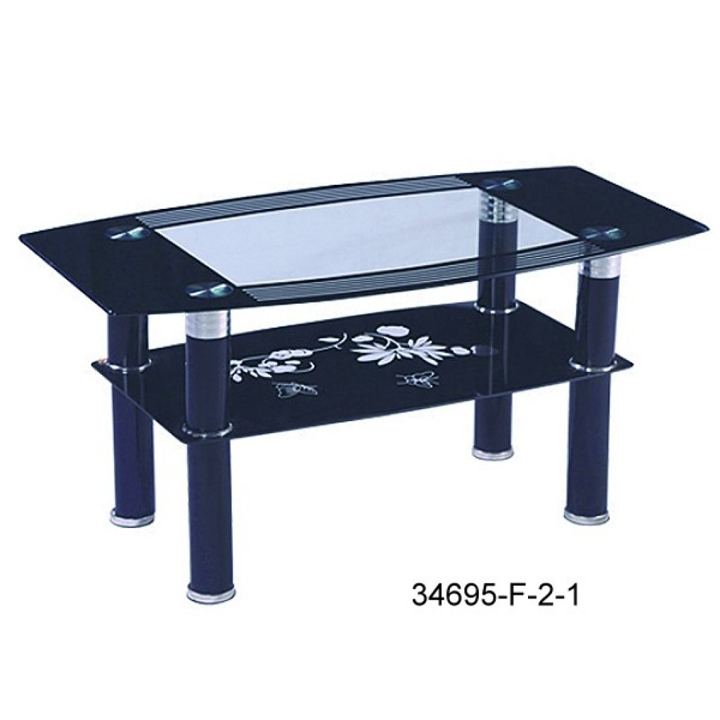 34695-F-2-1 Glass coffee table
