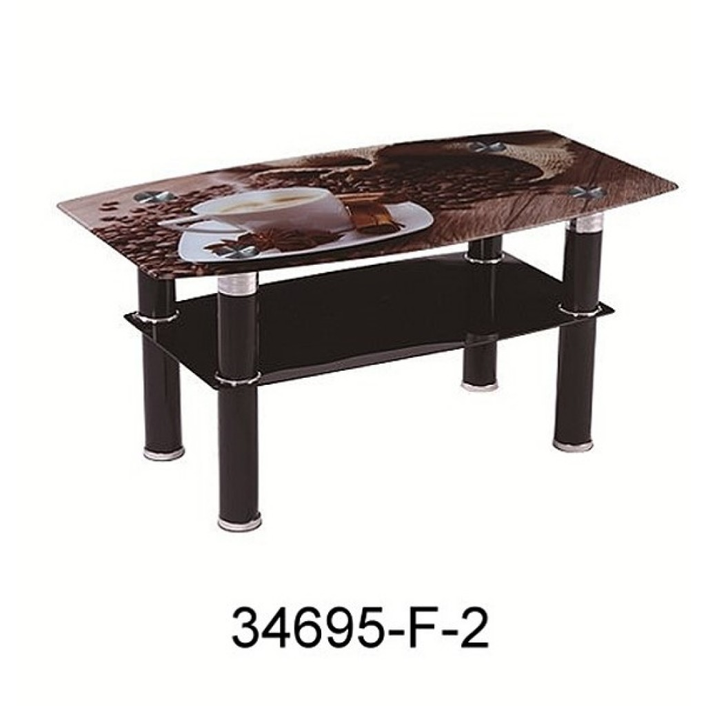 34695-F-2 Glass coffee table