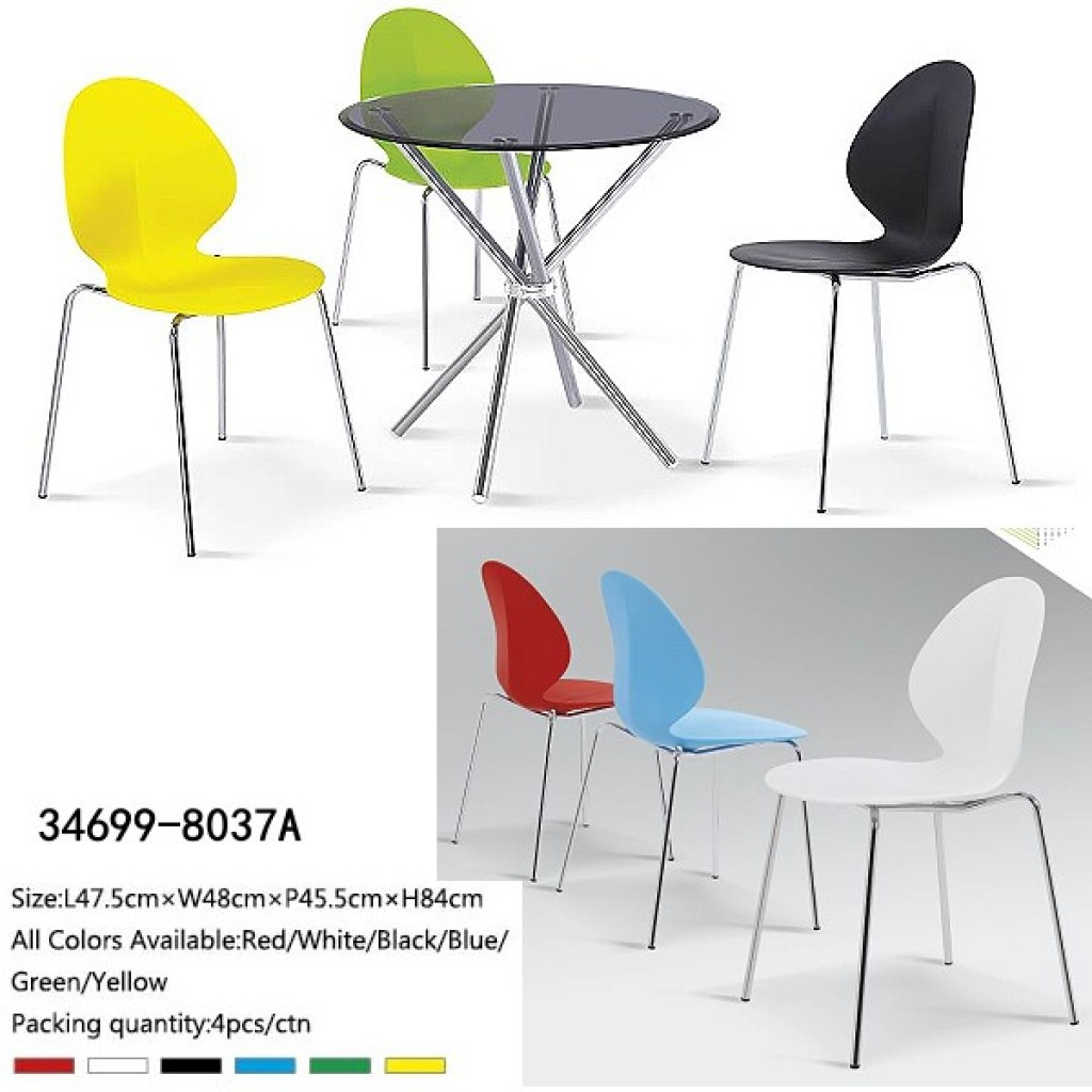 34699-8037A Metal /Plastic Dining Chair