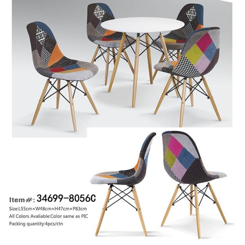 34699-8056C Fabric  Dining Chair