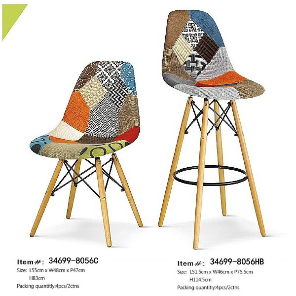 34699-8056HB Fabric  Dining High Chair