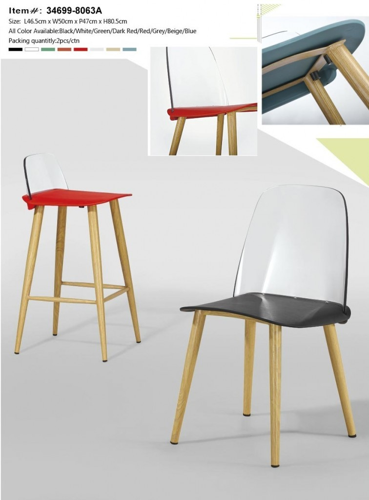 34699-8063A Plastic Dining Chair